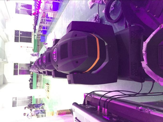 Indoor Beam Moving Head LED Stage Lights Sharpy 7R 200W Osram AC 110 - 240V