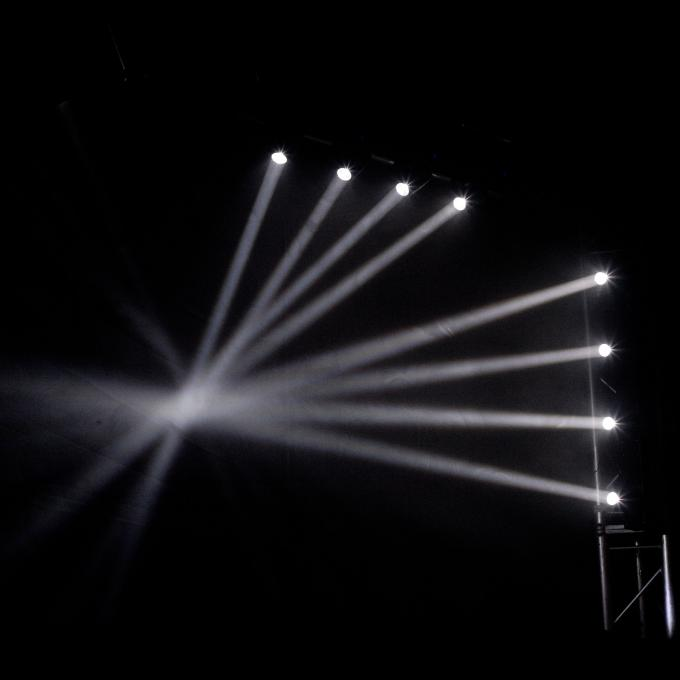 RGBW LED Stage Light Bar Moving Head 10 Watt For Small Concerts / Nightclubs