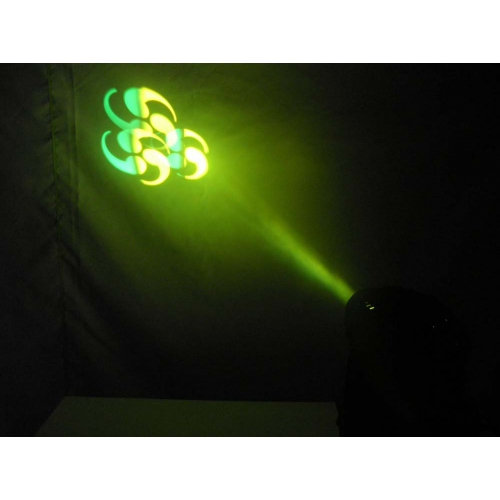 Super Bright Gobo Rotation LED Spot Moving Head 60 Watt With Rainbow Effect
