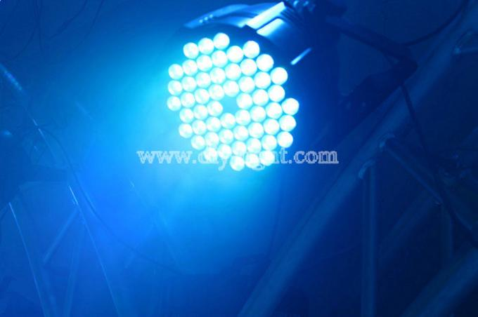 Light Weight RGB LED Par Light 9W / 12W For Road Shows Low Power Consumption