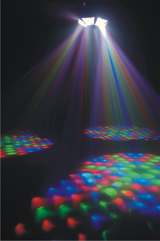 LED RGB Scatter Special Effects Lights AC110 - 220V Portable LED Stage Lights