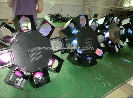 LED Eight Octopus UFO Disco Stage Effect Lights For Ktv / Party / Wedding Lighting