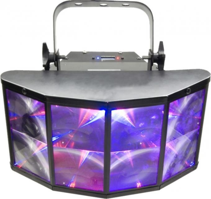 Party Dj Multi Color LED Shell Lamp / Special Effects Lights Light Weight