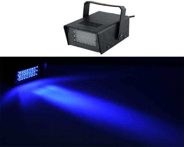 Mini 3W LED Club Party Stage Strobe Lights Flash Effect Green Strobe Light