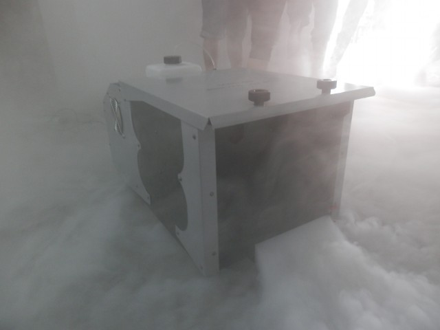 High Powered 3000W Low Lying Fog Machine With Wired / Remote Control Non - Toxic