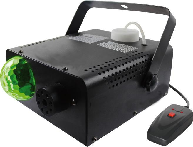 3A / 5A Colorful 400 Watt Stage Fog Machine With LED Magic Ball RoHS Certification