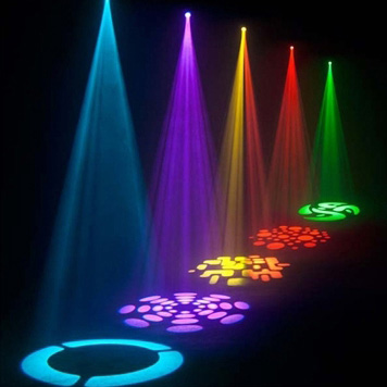 12W Moving Head LED Stage Light Gobos Spotlight For Club DJ Party Lighting