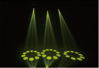 High Output Mini LED Spot Moving Head Light For Stage Lighting 150W 6° Beam Angle