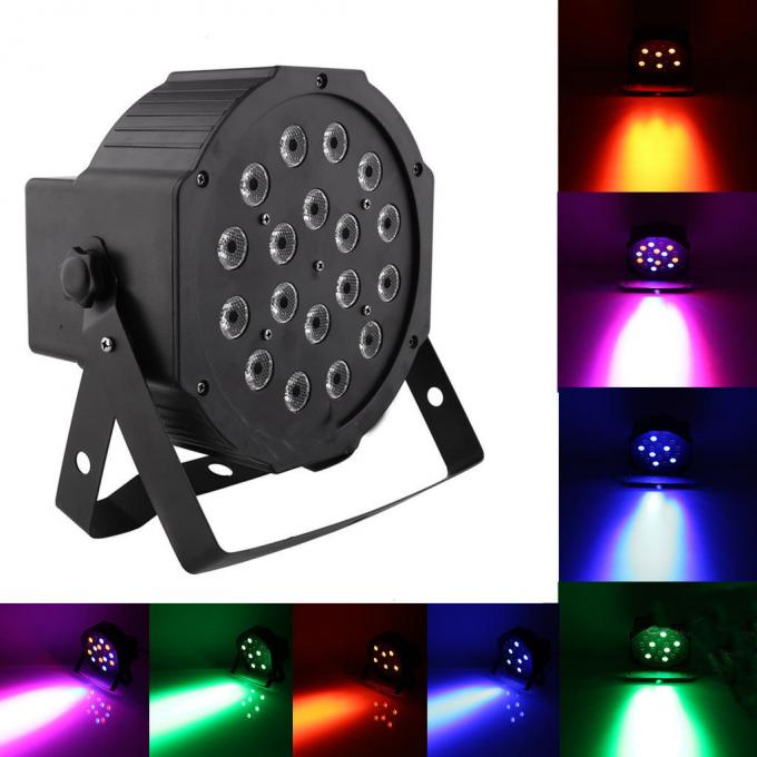 18x1W Mini Led Can Stage Lights Disco DJ Wedding Party Concert Lighting