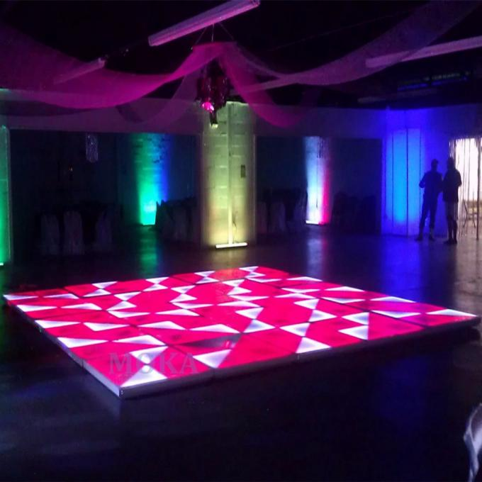 DMX512 Led Wedding Club Party Stage Light LED Dance Floor Lights R 256 , G192 , B192
