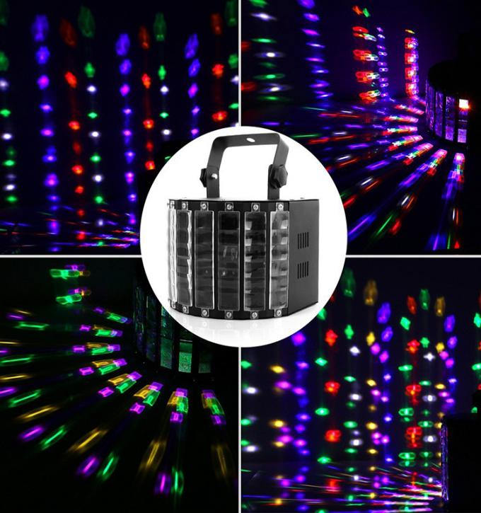 Club DJ LED Disco Light With 27W 9 Colors LED Effect Party Lighting Remote Control