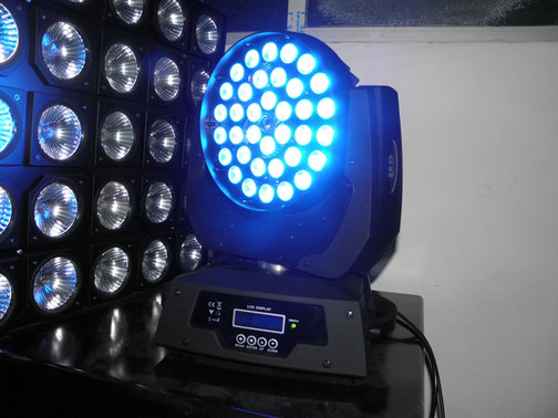 4 in 1 36pcs*10W LED Small Beam Moving Head Light RGBW Wash light With Zoom