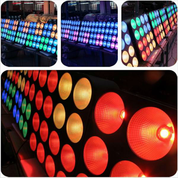 16 Heads 30W LED Pixel Beam Moving Head Bar Light LED Matrix Stage Blinder Light