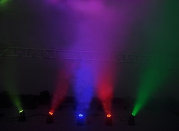 5pcs*15W 6 in 1 RGBWA LED 	Beam Moving Head Light , Moving Head Stage Lights
