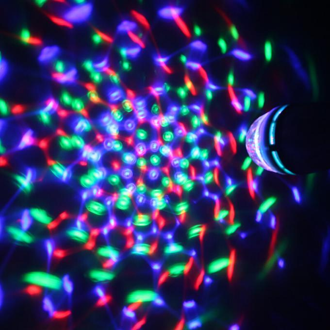 3W Mini Colorful Magic Ball LED  Christmas Light , Disco Effect Lights