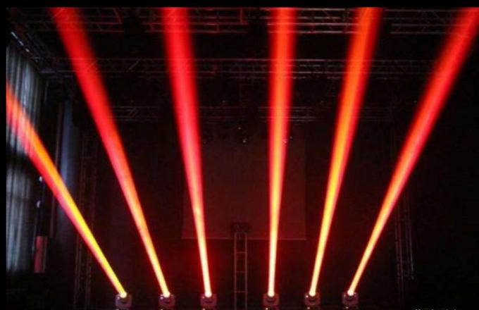 New Design 60W Moving Head Light High Brightness  4 color RGBW mixed