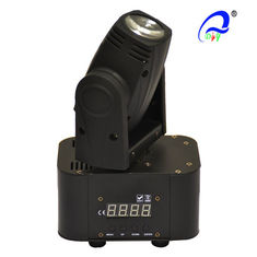 China 10w 4in1 RGBW Mini LED Beam Moving Head Light DMX512 LED Moving Head Spot Light supplier