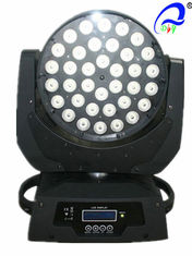 China Quad 4-In-1 RGBW LED Wash Moving Head Light With Zoom 36 Pcs * 10W CE Approved supplier