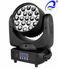 China Beam Zoom LED Wash Moving Head Lamp 19 Pcs * 12W Sound Control For Concerts supplier