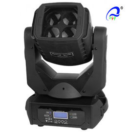 China Sound Activated Rgbw LED Disco Light 4 Pcs 25W With Super Beam Moving Head supplier
