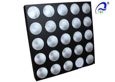 China LED 25 Heads 10W RGB LED Matrix Lights / LED Matrix Blinder Panel Light 17kg supplier
