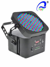 China Wireless 198 * 5mm LED Par Light 60 Red / 69 Green / 69 Blue Wide Range Beam Effect supplier