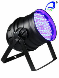 China 10mm Multi Color 4 Channel DMX LED Par 64 Can Lights 15 - 40 Degree Beam Angle supplier