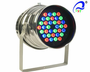 China Multi Color Par 64 LED Lights 36pcs 1W / 3W Light Weight Cree LED Lights supplier