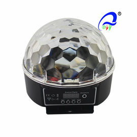 China Disco DJ Stage LED Christmas Light Crystal Magic Ball Effect 6 Color / 3 Color supplier