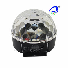 China RGB / RGBW Magic Ball LED Christmas Light 20 Watt Sound Activated With Stepper Motor supplier