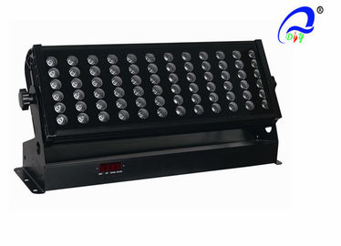 China Red / Blue / Green City RGB Wall Washer LED Lights RGBW 72pcs 3W CE Certification supplier