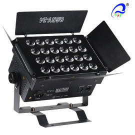 China 10W 24 PCS Linear LED Wall Washer Light DMX Stage Light RGBW 4in1 50 / 60HZ supplier