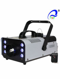 China Indoor Portable 950W Stage Fog Machine With 6 * 3w LED RGB 3 in 1 Light Source supplier