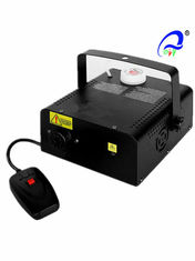 China Professional 400w Fog Machine 250ml Capacity With Laser R / G Stage Effect supplier