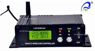 China LCD Display Window DMX Light Controller Wireless Receiver Transmitter 500 Meter supplier