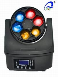China Dj Stage 6 Pcs 12W Bee Eye LED Wash Moving Head RGBW 4in1 50000 Hours Life Span supplier