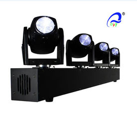China 4 PCS 10W Mini W / RGBW 4 IN 1 DMX LED Moving Head  sharpy beam Bar lighting supplier