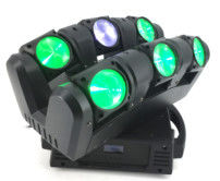 China 80w 6 Heads infinite moving head bar 6*12W 4 in 1 RGBW Party DJ moving head lights supplier