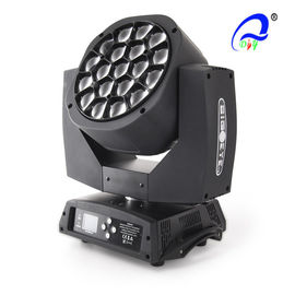 China 19Pcs * 12W Beam RGBW 4in1 Led Zoom Wash Moving Head Dispiay Light supplier