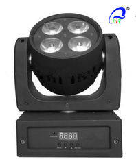 China DMX512 4PCS 10W RGBW 4 IN1 Mini Beam Moving Head Light  , LED Wash Light supplier