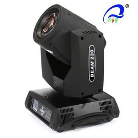 China 230W Sharpy 7R Gobo Moving Head Beam Light For Stage Dispiay , LED Disco Light supplier