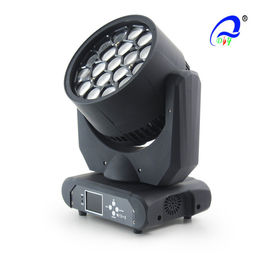 China DMX 19pcs*12W 4in1 RGBW Bee Eye LED Moving Head Light With Zoom supplier
