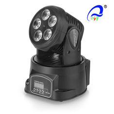 China 5pcs*15W 5 in 1 RGBWA LED Moving Head Wash Light Mini LED Stage Lighting supplier
