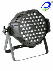 China 54pcs*3W RGB Or RGBW High Brightness LED Par Light , Par Can LED Lights supplier