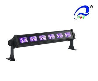 China 6pcs*3W UV Disco Effect Bar Theatre Stage Lights LED For Entertainment Center supplier