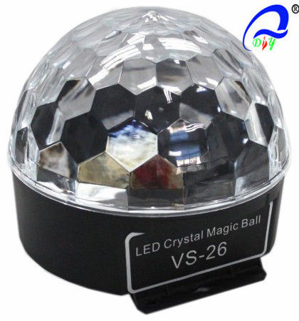China VS-26+ Sound LED 3*3W RGB Magic Ball With Bluetoooth Christmas