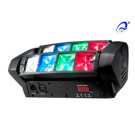 China Eye Sharpy DJ LED Stage Lighting For Churches / Wedding / Party 8 X 3 Watt distributor