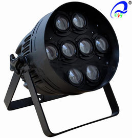 China DMX512 LED White Color Beam Par Cans Stage Lights For TV Studios / Road Shows factory