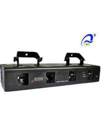 China Four Heads Full Color Laser Stage Light Beam Effect Professional DJ Equipment distributor