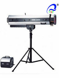 China HMI 1200 Watt 6500k Led Follow Spot Light 50 / 60Hz Stage Follow Spotlights distributor